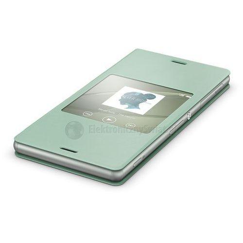 Sony Scr24 stylowa osłona ekranu do xperia z3 (zielony) - zielony