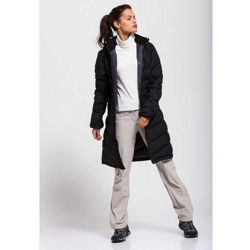Jack wolfskin Płaszcz selenium coat women - black
