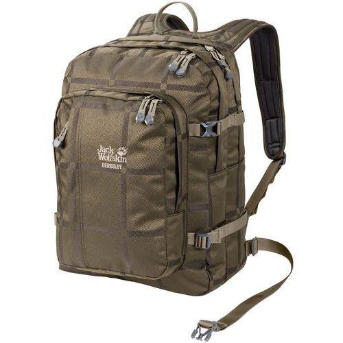 Jack wolfskin berkeley y.d. plecak brązowy 2018 plecaki szkolne i turystyczne (4055001742059)