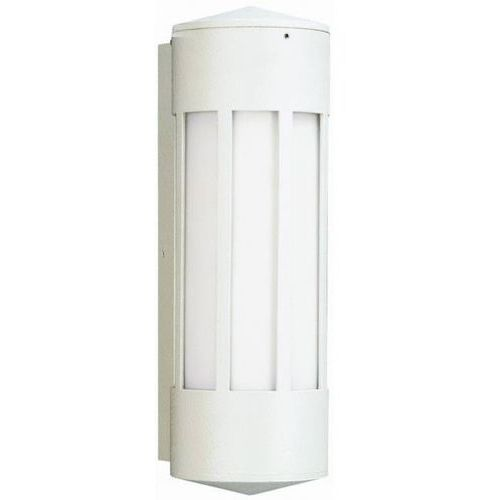 Albert 240 zewnętrzny kinkiet Biały, 1-punktowy - Nowoczesny - Obszar zewnętrzny - 240 - Czas dostawy: od 10-14 dni roboczych (4007235802405)