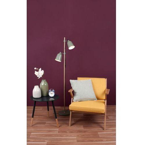 Leitmotiv Lampa podłogowa wood-like 2 shades