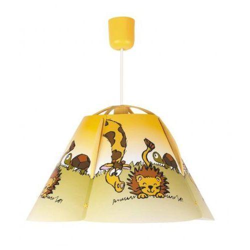 Lampa wisząca dziecięca zwis leon 1x60w e27 wielokolorowa 4568 marki Rabalux