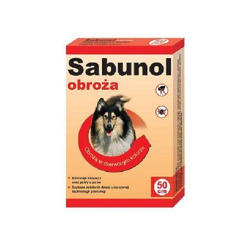 DR SEIDEL Sabunol - obroża przeciw pchłom i kleszczom dla psa czerwona 50cm