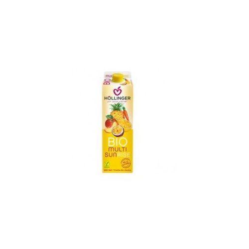 Hollinger (soki, napoje) Sok wieloowocowy z sokiem z marchwi sunrise bio 1 litr hollinger (9120008994826)