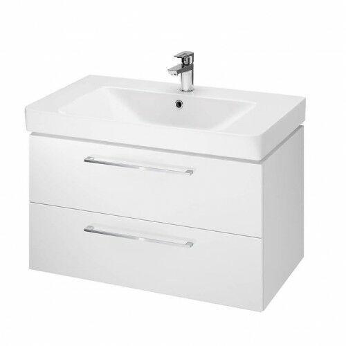 CERSANIT set B348 szafka Lara biała + umywalka Mille 80 S801-338