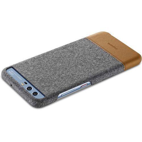 Huawei Etui HUAWEI P10 Plecki Skóra-Filc Jasno Szare (51991894) Darmowy odbiór w 20 miastach! (6901443158928)