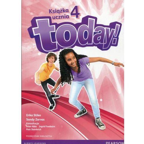 Today 4 Podręcznik wieloletni + CD, oprawa miękka