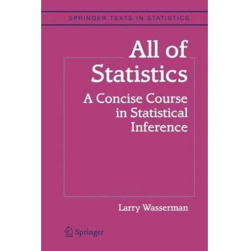 All of Statistics, Wasserman, L. A.