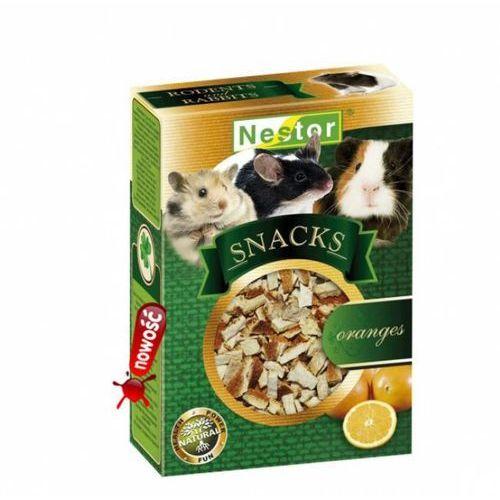 Nestor snacks premium przekąska dla gryzoni i królików - pomarańcza