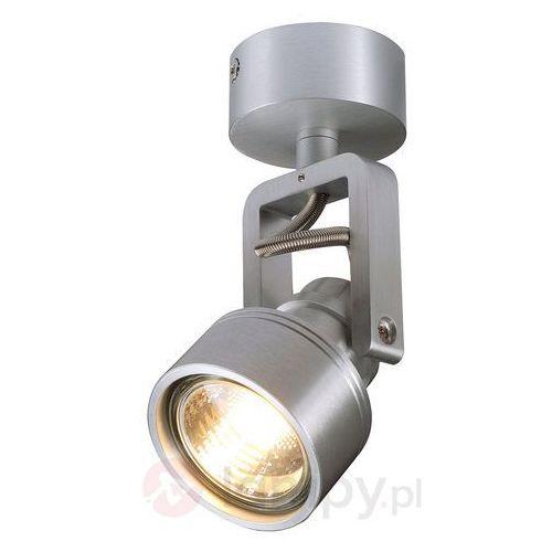 Slv Lampa punktowa 147559 gu10, (Øxw) 6 cmx15.8 cm, aluminiowy (szczotkowany) (4024163109055)