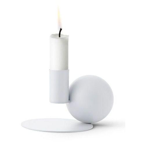 Menu - świecznik optical - biały