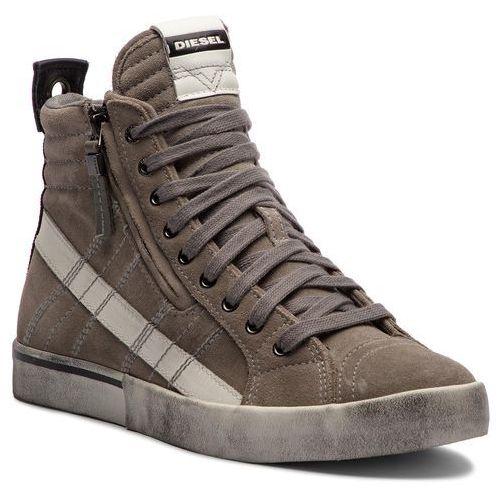 Diesel Sneakersy - d-velows mid lace y01759 p1834 t8066 elephant skin