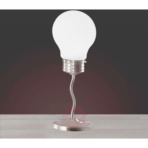 Trio 3401 lampa stołowa Nikiel matowy, 1-punktowy - Nowoczesny - Obszar wewnętrzny - 3401 - Czas dostawy: od 4-8 dni roboczych (4017807057683)