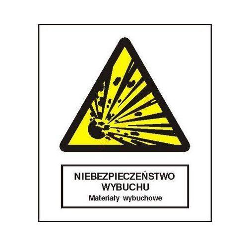 Techem Znak niebezpieczeństwo pożaru - materiały wybuchowe fb