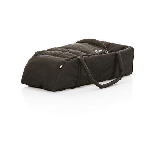 wkład do wózka carry soft woven – black 2018 marki Abc design