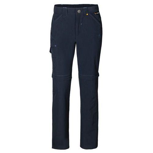 Jack wolfskin Spodnie safari zip off pants k night blue - 104