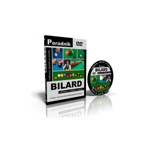 Naucz się grać w bilarda - kurs bilarda na DVD - produkt z kategorii- Poradniki wideo