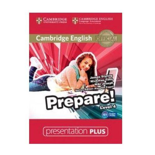 Cambridge english prepare! 4 presentation plus dvd od producenta Cambridge university press