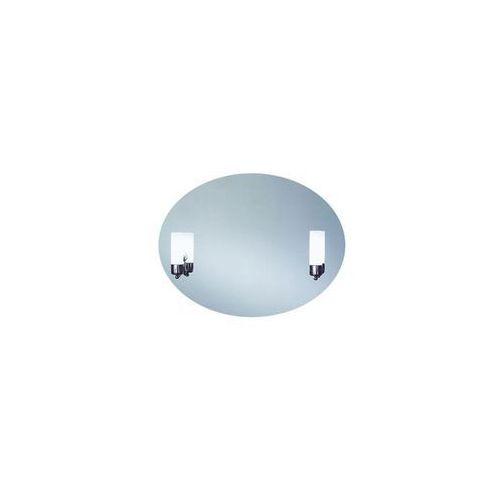 Dubiel vitrum Lustro łazienkowe z oświetleniem kinkietowym caso 80 x 60 (5905241015774)