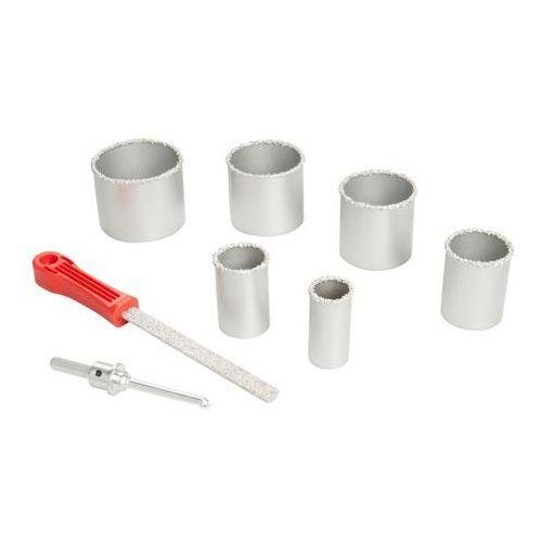 Zestaw otwornic węglowych Universal fit HEX 35-85 mm 6 szt.