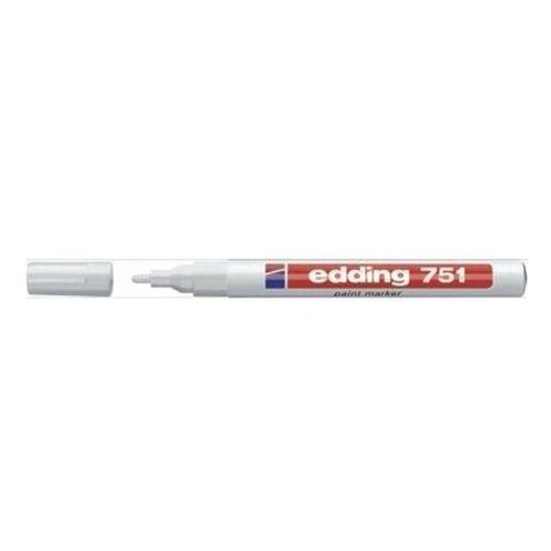 Edding Marker olejowy 751, biały, końcówka okrągła 1-2 mm - rabaty - porady - hurt - negocjacja cen - autoryzowana dystrybucja - szybka dostawa