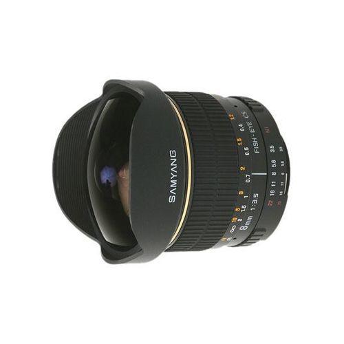 8mm f/3,5 h.d (canon) - przyjmujemy używany sprzęt w rozliczeniu | raty 20 x 0% marki Samyang