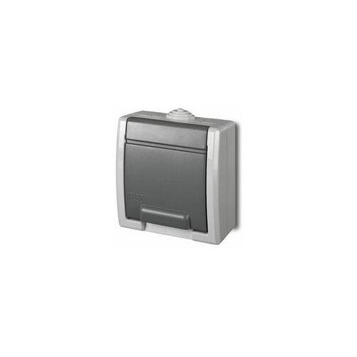 Elektroplast-nasielsk aquant gniazdo hermetyczne pojedyncze z uziemieniem ip55 1241-10 marki Elektro-plast nasielsk