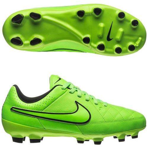 Nowe buty piłkarskie korki jr tiempo genio leather fg r.36,5-23,5cm marki Nike
