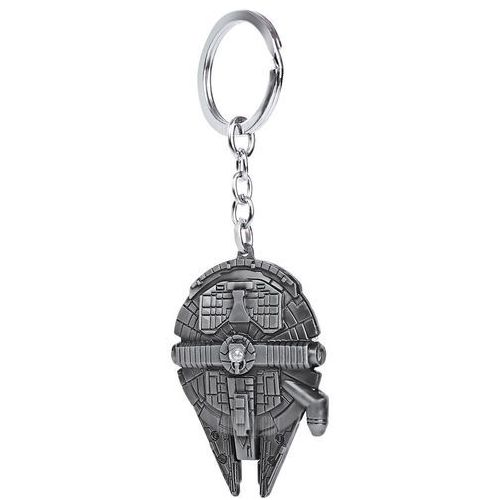 Millennium falcon model key ring pendant decoration spaceship shape movie product marki Gearbest