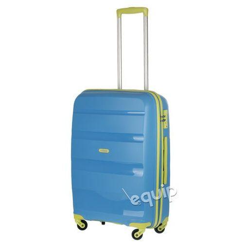 Walizka średnia American Tourister Bon Air - niebieski-limonka