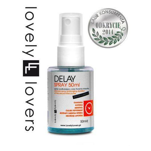 Spray delay opóźniający wytrysk 50ml   100% dyskrecji   bezpieczne zakupy marki Lovely lovers