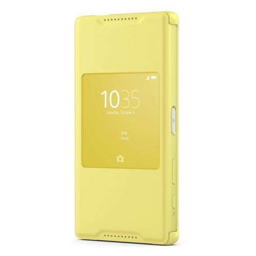 Sony Etui compact scr44 do xperia z5 żółty (7311271532071)