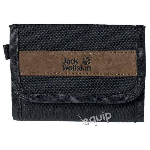 Portfel podróżny  embankment - black marki Jack wolfskin