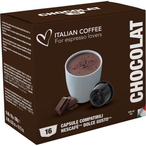 Chocolat italian coffee (czekolada na gorąco) kapsułki do dolce gusto – 16 kapsułek marki Nespresso kapsułki