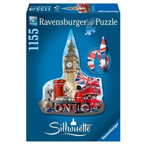 puzzle big ben londyn sylwetka, 1155 el. marki Ravensburger