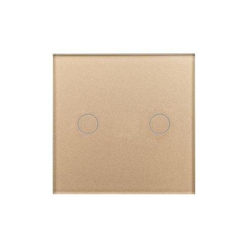 Włącznik podwójny ROSA Satyna POLMARK (5907559871943)