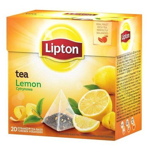 Herbata Lipton Lemon piramidki (20 saszetek)
