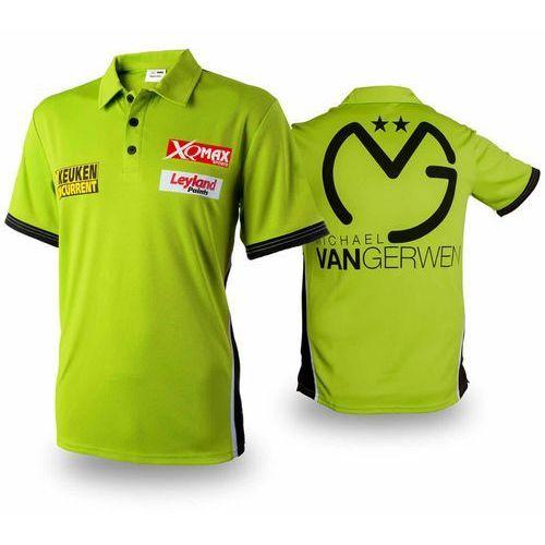 XQmax Darts Replika koszulki meczowej MvG, zielona, S, QD9200520