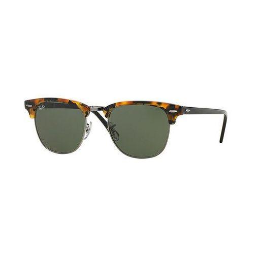 Ray-ban Rayban clubmaster okulary przeciwsłoneczne brown/black (8053672346169)