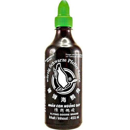 Sos z czarnym pieprzem do potraw z woka 455ml - marki Flying goose