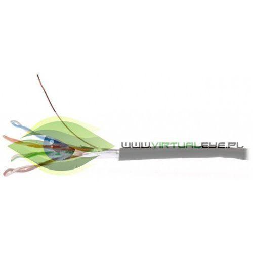 KABEL TELEINFORMATYCZNY KAT.5E F/UTP ZEWNĘTRZNY ŻELOWANY 500M, 4272K (6462403)