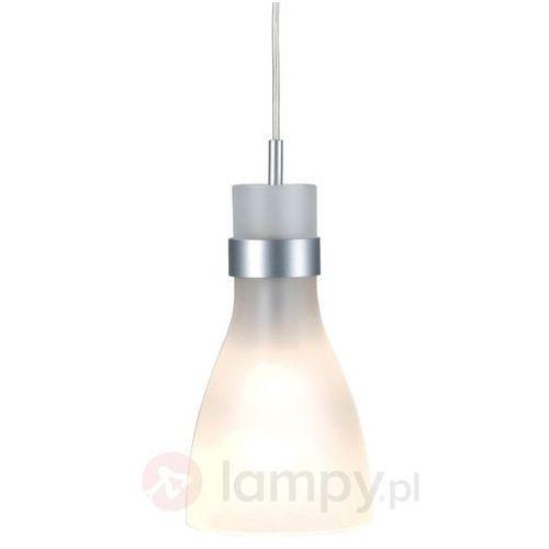 Lampa wisząca, SLV Biba III 133464, E14, maks. 60 W, 130 x270 mm, srebrna (4024163092661)