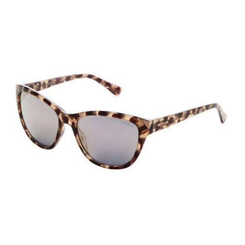 Okulary przeciwsłoneczne damskie GUESS - GU7398-74, GU7398_55C