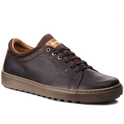 Sneakersy WRANGLER - Historic Derby WF2265885 Dk.Brown 30, w 6 rozmiarach