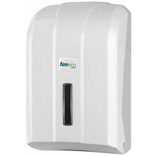 Pojemnik (podajnik) pop tp400pgwg na papier toaletowy w listkach marki Faneco