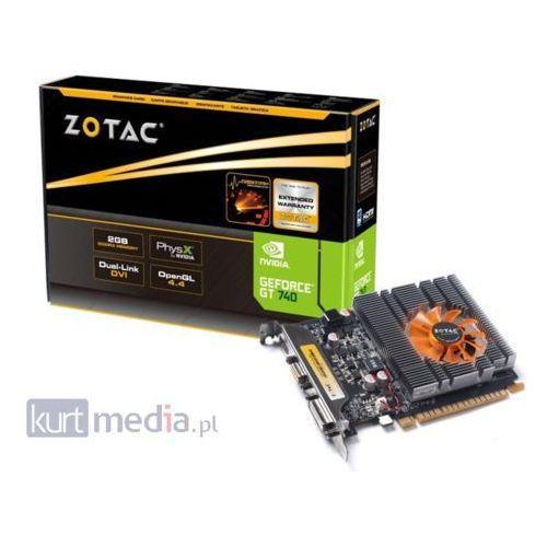 OKAZJA - Karta graficzna Palit GeForce GT 740 2GB DDR3 (128 bit) VGA, DVI, HDMI (NEAT7400HD41F) Darmowy odbiór w 20 miastach!