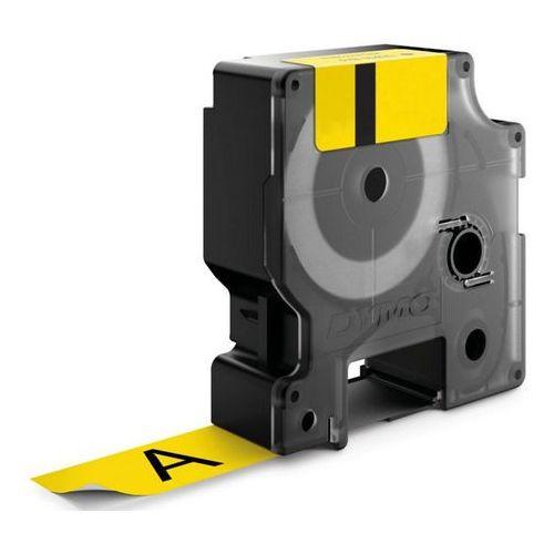 Dymo Taśma d1- 12mm x 7m czarny/żółty (45018)- wysyłka dziś do godz.18:30. wysyłamy jak na wczoraj! (5411313450188)