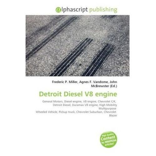 Detroit Diesel V8 engine (9786130277932)