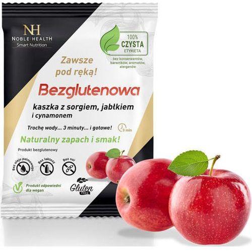 Kaszka bezglutenowa sorgo jabłko cynamon mieszanka 55g - data ważności 29-09-2018r. marki Noble health