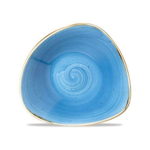 Salaterka trójkątna 370 ml, niebieska   , stonecast cornflower blue marki Churchill